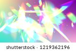 holographic light glitch effect.... | Shutterstock .eps vector #1219362196