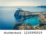 vintage horizontal photo with...   Shutterstock . vector #1219390519