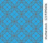 art deco seamless background.   Shutterstock .eps vector #1219390606