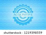 acquisitive light blue water...   Shutterstock .eps vector #1219398559