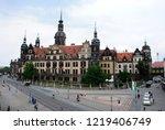 dresden  germany   august 24 ...   Shutterstock . vector #1219406749
