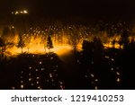aerial night view of all saints'... | Shutterstock . vector #1219410253