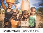 hwange  matabeleland north... | Shutterstock . vector #1219415143