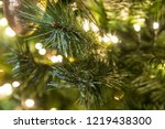 christmas tree with led light ... | Shutterstock . vector #1219438300