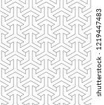 vector seamless texture. modern ... | Shutterstock .eps vector #1219447483