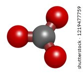 carbonate anion  chemical... | Shutterstock . vector #1219477759