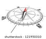 compass | Shutterstock . vector #121950310