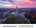 Czestochowa and Jasna Gora monastery. The Jasna Gora Luminous Mount Monastery in Czestochowa Poland is a famous Polish shrine to the Virgin Mary and one of the country