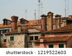 Venice  Roofs And Chimneys ...