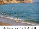 vila do bispo  portugal  ... | Shutterstock . vector #1219528450