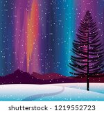 nature landscape with... | Shutterstock .eps vector #1219552723