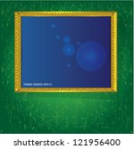 frame for picture vector | Shutterstock .eps vector #121956400