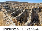 the underground aqueduct at the ... | Shutterstock . vector #1219570066
