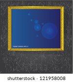 frame for picture vector | Shutterstock .eps vector #121958008