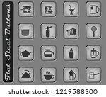 utensils for beverages vector...   Shutterstock .eps vector #1219588300