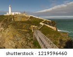 White Lighthouse At South Stac...