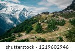 Planpraz Ski Slopes During The...