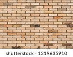 background of old brickwall.... | Shutterstock . vector #1219635910