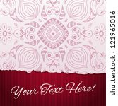 torn paper background with...   Shutterstock .eps vector #121965016