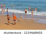 vila do bispo  portugal  ... | Shutterstock . vector #1219668403