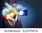 modern wireless technology... | Shutterstock . vector #121970476