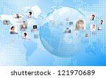 image of our planet as symbol... | Shutterstock . vector #121970689
