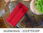 bangkok thailand   honor launch ... | Shutterstock . vector #1219752109
