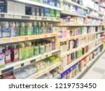 blurred image wide selection of ...   Shutterstock . vector #1219753450