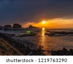 utoro port is well known as a...   Shutterstock . vector #1219763290