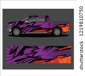 truck car and vehicle  abstract ...   Shutterstock .eps vector #1219810750