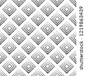 seamless pattern with geometric ... | Shutterstock .eps vector #1219863439