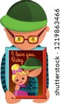 love couple card | Shutterstock .eps vector #1219863466