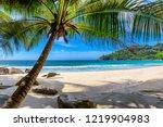 Paradise Beach. Sunny Beach...