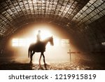 majestic image of horse horse... | Shutterstock . vector #1219915819