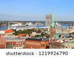 view of line in the portr and... | Shutterstock . vector #1219926790