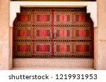 Heritage Old Door In Albujairi...