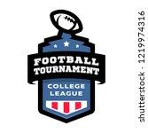 football college tournament... | Shutterstock .eps vector #1219974316