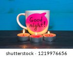 relaxation and good night... | Shutterstock . vector #1219976656
