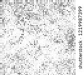 halftone texture is black and... | Shutterstock .eps vector #1219987399