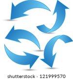 set of arrows | Shutterstock vector #121999570