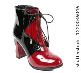 women's demi season shoes... | Shutterstock . vector #1220046046