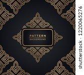 elegant ornamental pattern... | Shutterstock .eps vector #1220065276