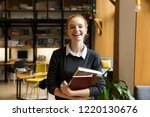 image of beautiful cheerful... | Shutterstock . vector #1220130676