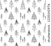 vector christmas and new year... | Shutterstock .eps vector #1220142976
