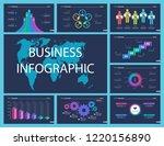 business infographic creative...   Shutterstock .eps vector #1220156890