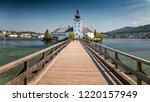 gmunden austria 08.august 2018  ...   Shutterstock . vector #1220157949