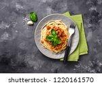 Pasta Bolognese. Spaghetti Wit...
