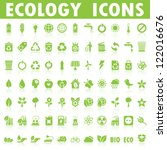 ecology icons | Shutterstock .eps vector #122016676