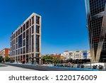 madrid  spain   july 30   2018  ... | Shutterstock . vector #1220176009
