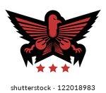 elegant empire symbol | Shutterstock .eps vector #122018983